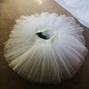 White Ballet Pancake Tutu ✨
